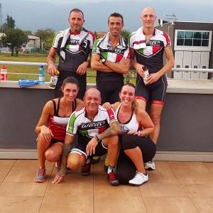 Team Wilier spinning session